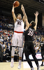NCAA Basketball: San Diego State at Gonzaga