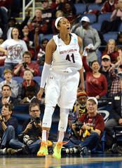 NCAA Womens Basketball: NCAA Tournament-Greensboro Regional: South Carolina v Florida State