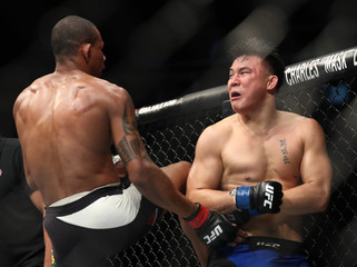 MMA: UFC Fight Night-Oliveira vs Moontasri