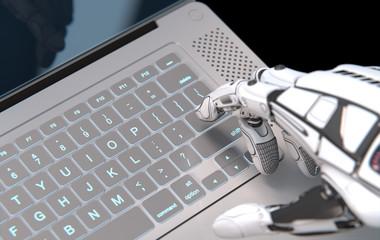 Futuristic robot conceptual design