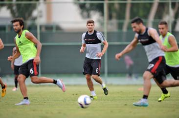 MLS: LA Galaxy-Steven Gerrard Press Conference