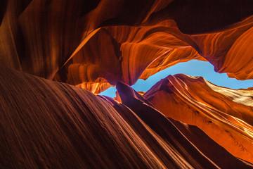 Staande foto Canyon Antelope canyon, Arizona