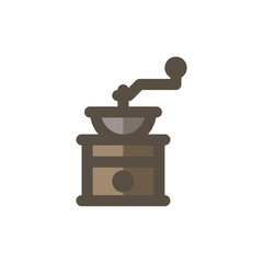 Coffee Filled - Manual Coffee Grinder Icon