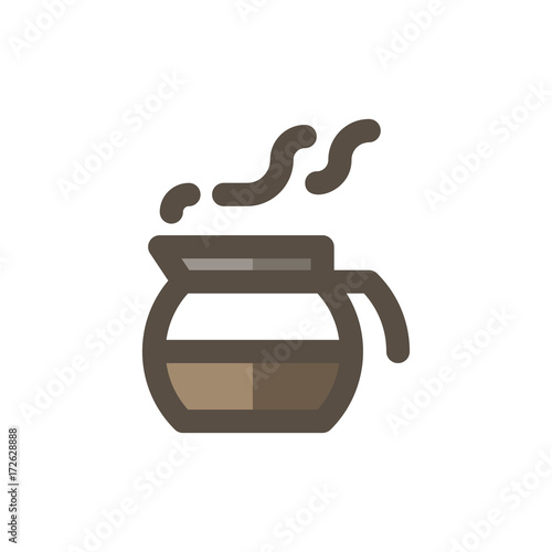 Coffee Filled - Coffee Server Icon
