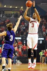NCAA Basketball: Abilene Christian at Nebraska