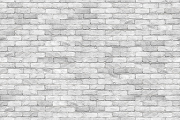 Seamless white brickwall brick stone wall texture background / Ziegelmauer Backsteinmauer weiß stein ziegelsteine verblender Hintergrund nahtlos