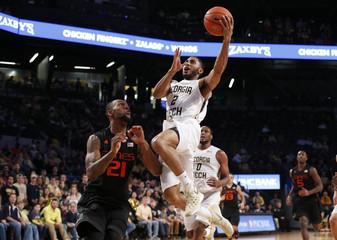 NCAA Basketball: Miami at Georgia Tech