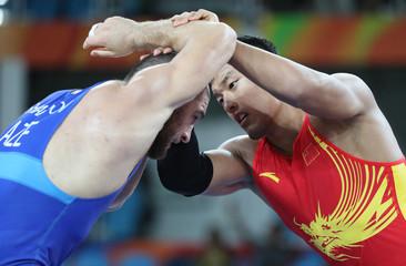 Olympics: Wrestling-Men's Freestyle