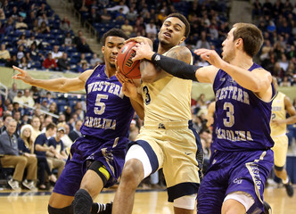 NCAA Basketball: Western Carolina at Pittsburgh