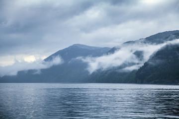 Nebel, Wolken
