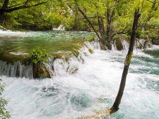 Europa, Kroatien, Lika-Senj, Osredak, Plitvica Selo,  UNESCO-Weltnaturerbe, Nationalpark Plitvicer Seen