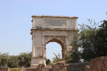 Resti archeologici dei Fori Imperiali. Roma Italia