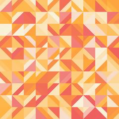 Decorative geometric shapes seamless pattern