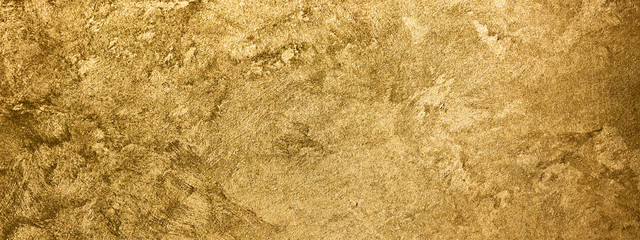 Golden texture background. Vintage gold. Wall mural