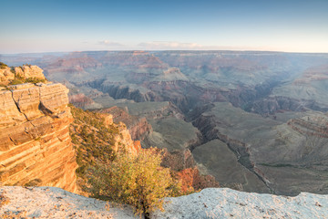 panoramic view of grand canyon national park, arizona