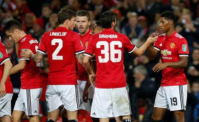 Carabao Cup Third Round - Manchester United vs Burton Albion