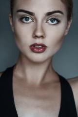 portrait of a beautiful girl model