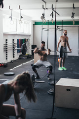 Group Workout in the Gym