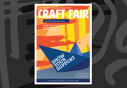 Craft Fair Event Poster 1
