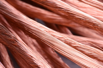 Copper wire secondary raw material