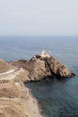 Lighthouse in Cabo de Gata, Almeria, Spain