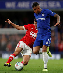 Carabao Cup Third Round - Chelsea vs Nottingham Forest