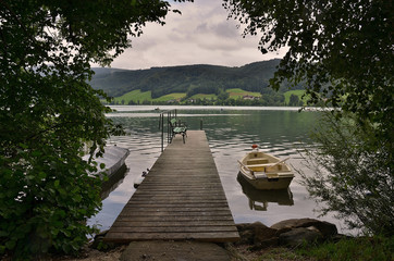 Irrsee lake, Austria