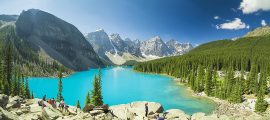 Papiers peints Canada Moraine Lake British Columbia Canada