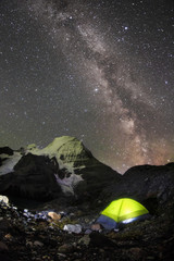 mount robson milky way