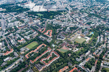Hamburg - Panorama from above