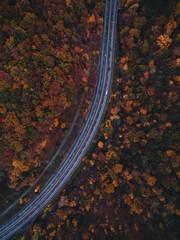 Fall In Pennsylvania Drone Shot