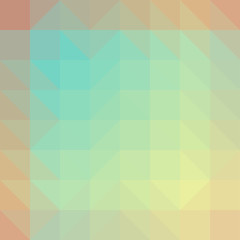 Broken geometric shapes. Abstract colored texture of geometric shapes. Decorative background can be used for wallpapers, printing pictures