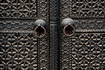 Antique Iron Gate in Kathmandu