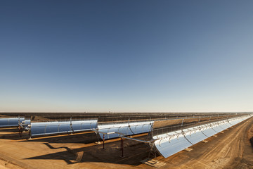 Thermal solar power plant