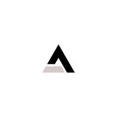 la letter logo vector