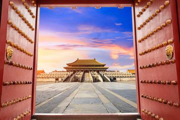 Papiers peints Pekin forbidden city in beijing,China