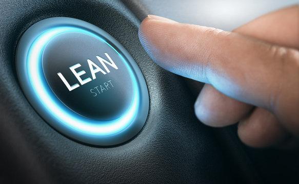 Lean Transformation and Management Concept