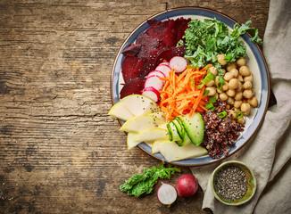 vegetarian breakfast plate