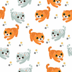 cute cat pattern