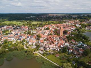 Luftbild von Crivitz