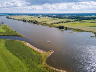 Die Elbe bei Dömitz