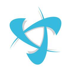abstract design logo