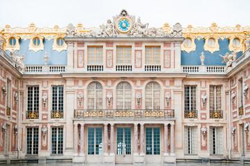 Facade of Palace of Versailles