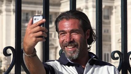 Handsome Male Selfie