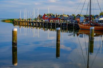Abend im Hafen von Ahrenshoop