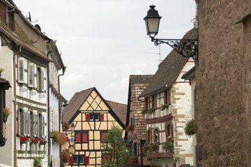 Eguisheim, Alsazia, Francia