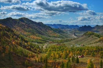 Parc National près d'Oulan Bator Mongolie