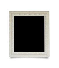 Photo Frame isolated on white background, this has clipping path.