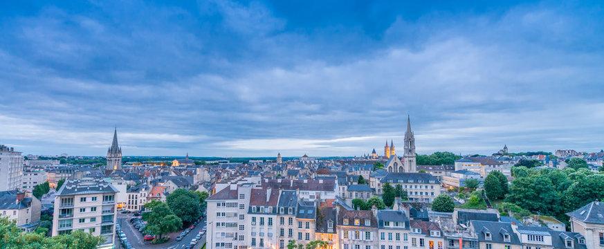 Caen Aerial View