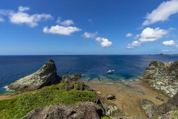 御神崎岬の美しい海